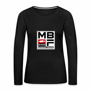 Mass Bassing Fishing - Women's Premium Long Sleeve T-Shirt