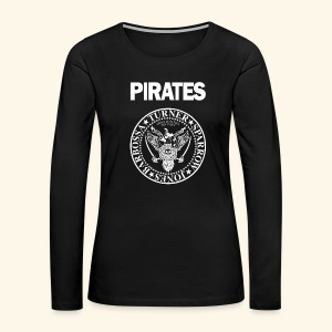Punk Rock Pirates [heroes] - Women's Premium Long Sleeve T-Shirt