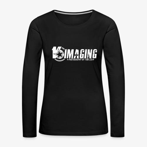 16 Horizontal White - Women's Premium Long Sleeve T-Shirt