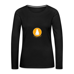 The Rusty Toque Orange Logo Brand - Women's Premium Long Sleeve T-Shirt