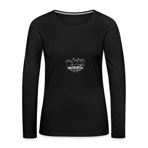SingleVolunteers - Women's Premium Long Sleeve T-Shirt