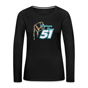 Dalaney Dunn Racing Logo - Women's Premium Long Sleeve T-Shirt