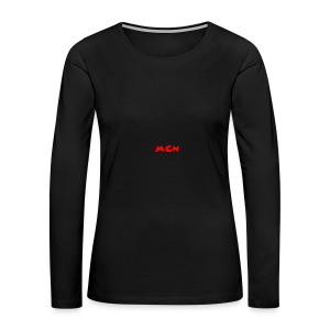 MCN Logo - Women's Premium Long Sleeve T-Shirt