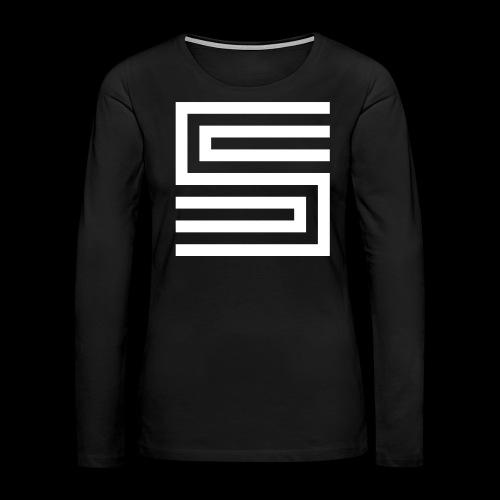 Silva Hound Logo - Women's Premium Long Sleeve T-Shirt