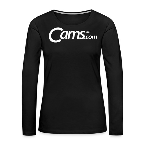 Cams.com Merchandise - Women's Premium Long Sleeve T-Shirt