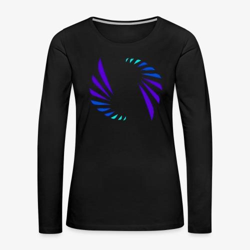 Entertainment Daily Letter less Logo - Women's Premium Long Sleeve T-Shirt