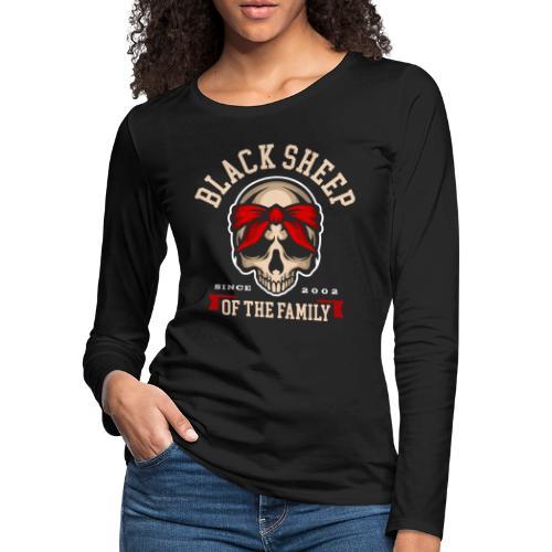 black sheep of the family - Women's Premium Slim Fit Long Sleeve T-Shirt