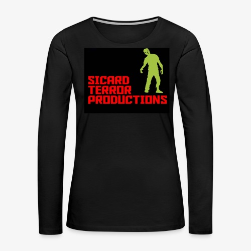 Sicard Terror Productions Merchandise - Women's Premium Long Sleeve T-Shirt