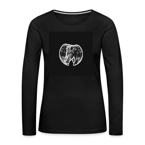 Horse - Women's Premium Long Sleeve T-Shirt