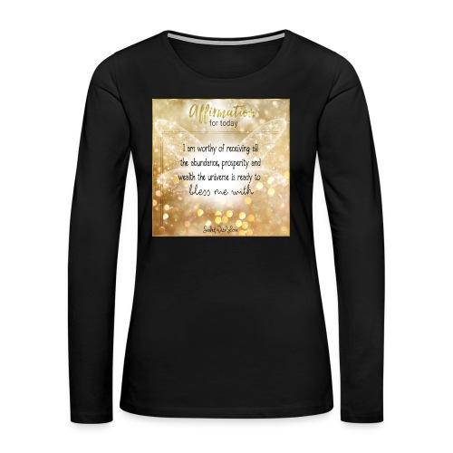 Abundance - Women's Premium Long Sleeve T-Shirt