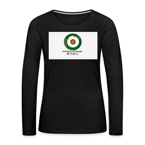 David Doyle Arts & Photography Logo - Women's Premium Long Sleeve T-Shirt