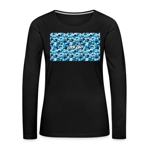 Iyb leo bape logo - Women's Premium Long Sleeve T-Shirt