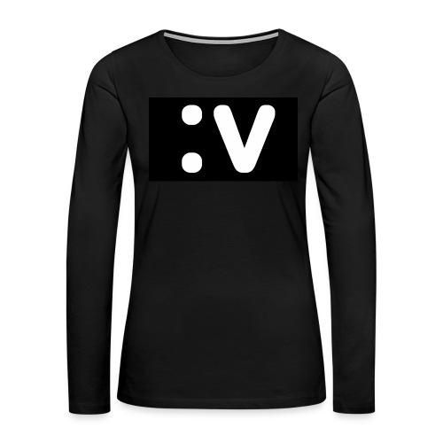 LBV side face Merch - Women's Premium Long Sleeve T-Shirt