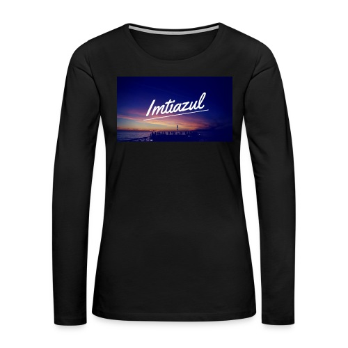 Copy of imtiazul - Women's Premium Long Sleeve T-Shirt