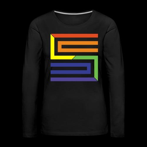 Silva Hound Egomaniac S - Women's Premium Slim Fit Long Sleeve T-Shirt