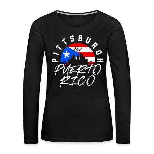PGH PR png - Women's Premium Slim Fit Long Sleeve T-Shirt