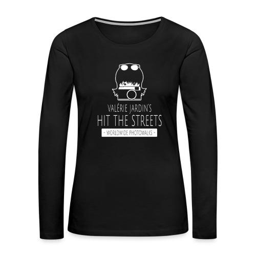 HIT-THE-STREETS-Worldwide - Women's Premium Slim Fit Long Sleeve T-Shirt
