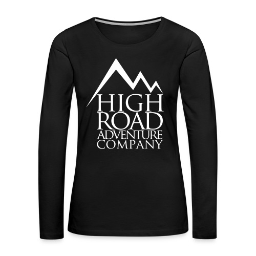 High Road Adventure Company Logo - Women's Premium Long Sleeve T-Shirt