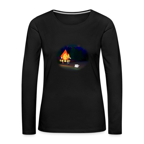 'Round the Campfire - Women's Premium Long Sleeve T-Shirt