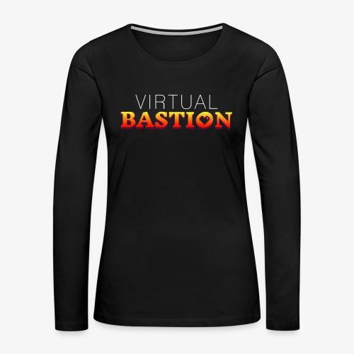 Virtual Bastion - Women's Premium Slim Fit Long Sleeve T-Shirt