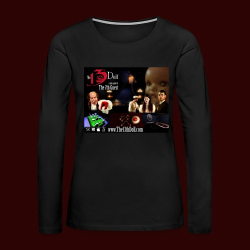 The 13th Doll Cast and Puzzles - Women's Premium Long Sleeve T-Shirt