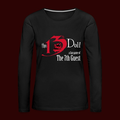 The 13th Doll Logo - Women's Premium Long Sleeve T-Shirt