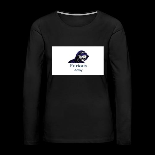 savage hoddie - Women's Premium Long Sleeve T-Shirt