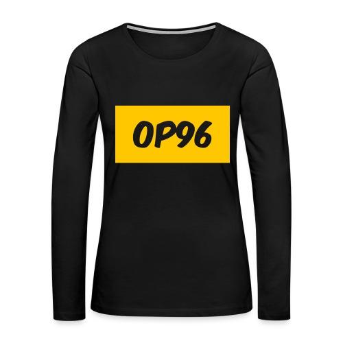 OP96FirstLogo - Women's Premium Long Sleeve T-Shirt
