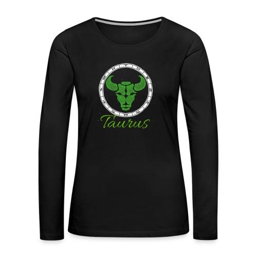 taurus - Women's Premium Long Sleeve T-Shirt