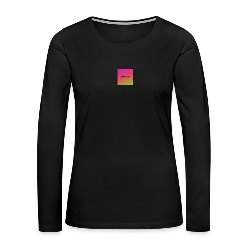 My Merchandise - Women's Premium Slim Fit Long Sleeve T-Shirt