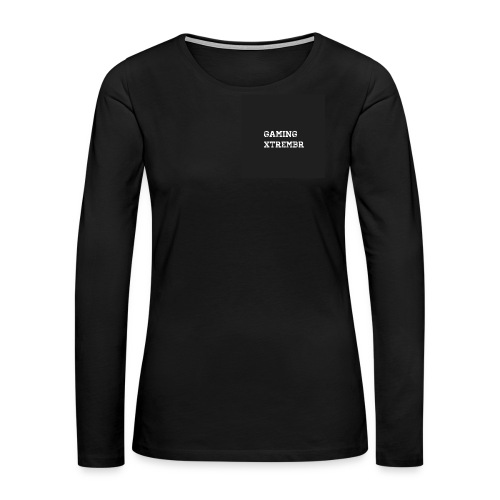 Gaming XtremBr shirt and acesories - Women's Premium Long Sleeve T-Shirt