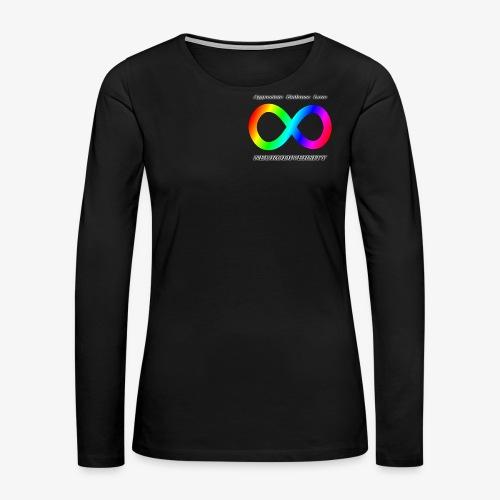 Embrace Neurodiversity - Women's Premium Long Sleeve T-Shirt