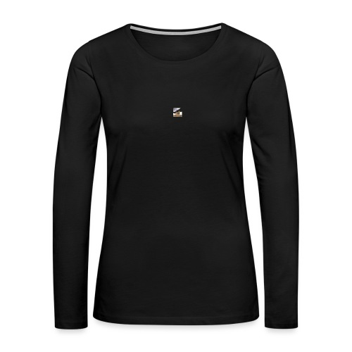 Icy Bear Mouse Pad - Women's Premium Long Sleeve T-Shirt