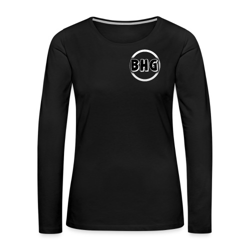 My YouTube logo with a transparent background - Women's Premium Long Sleeve T-Shirt