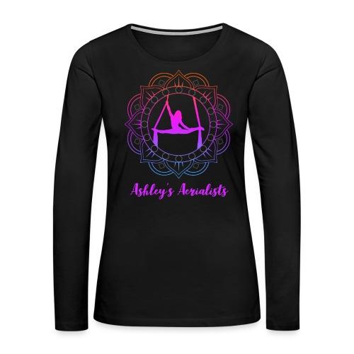 Ashley's Aerialist T-Shirt - Women's Premium Slim Fit Long Sleeve T-Shirt