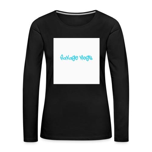 BBE7B1B4 6044 42AF A152 48208328D2C8 - Women's Premium Slim Fit Long Sleeve T-Shirt