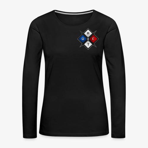 RTQC Logo - Women's Premium Long Sleeve T-Shirt