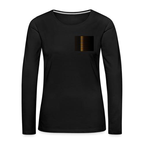 Gold Color Best Merch ExtremeRapp - Women's Premium Slim Fit Long Sleeve T-Shirt