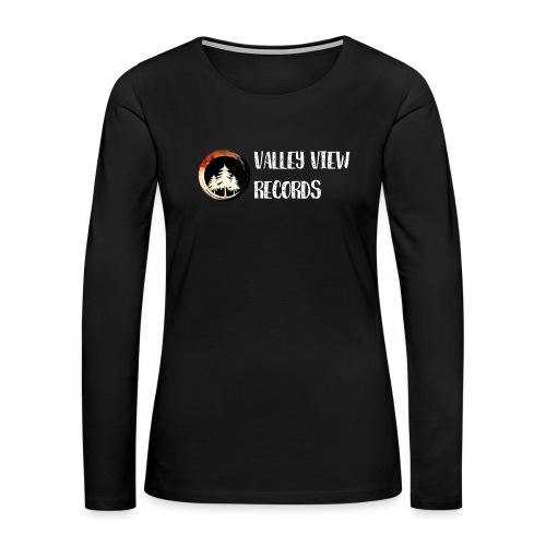 Valley View Records Official Company Merch - Women's Premium Long Sleeve T-Shirt