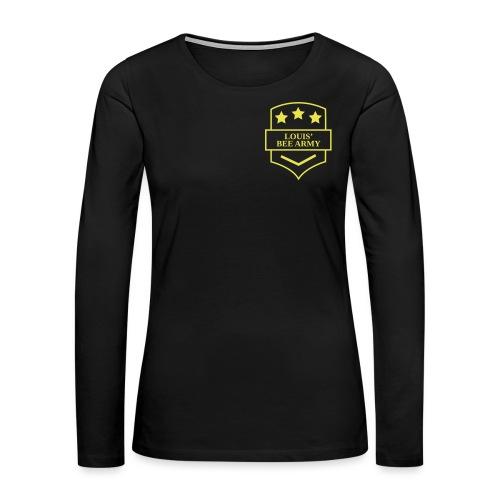 Louis' Bee Army - Women's Premium Long Sleeve T-Shirt