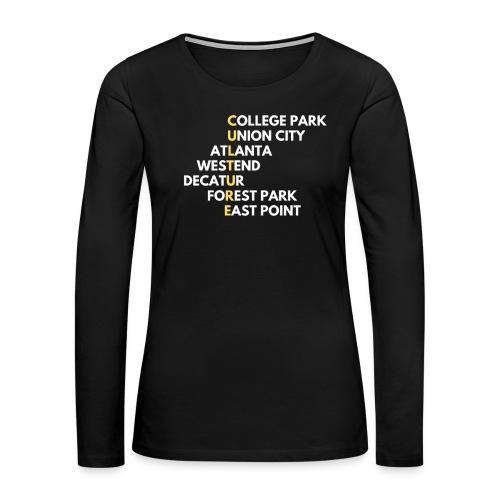 Culture Atlanta - Women's Premium Long Sleeve T-Shirt