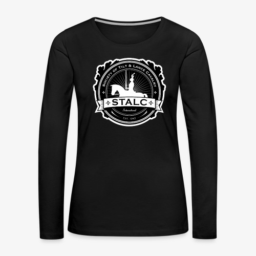STALC Logo - Women's Premium Slim Fit Long Sleeve T-Shirt