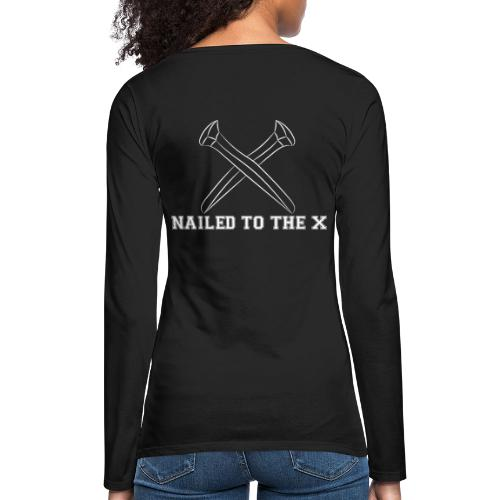 Nailed To The X Montreal SXE - Women's Premium Slim Fit Long Sleeve T-Shirt