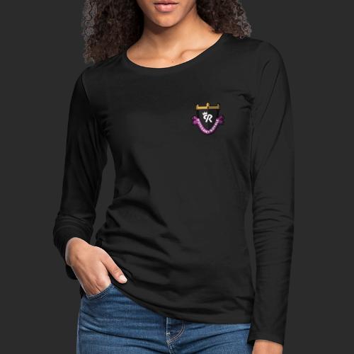 Puissant Royale Logo - Women's Premium Slim Fit Long Sleeve T-Shirt