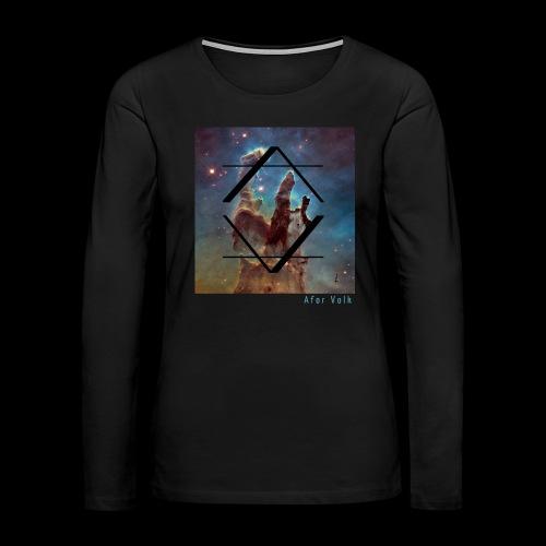 Afor Shirt Volk V1 - Women's Premium Long Sleeve T-Shirt