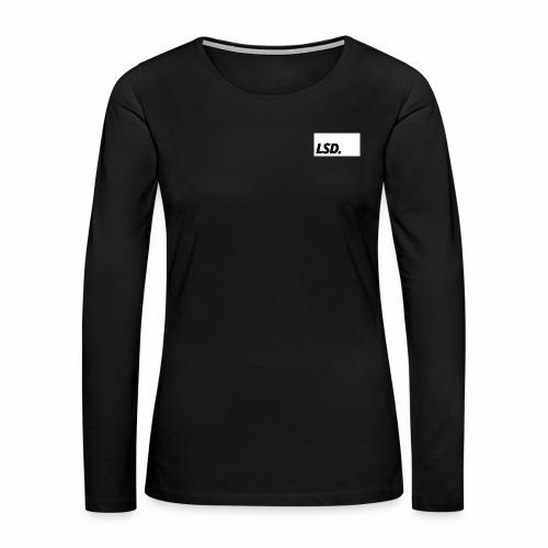 LSD - Women's Premium Slim Fit Long Sleeve T-Shirt