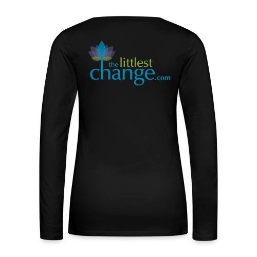Teach, Love, Nurture - Women's Premium Slim Fit Long Sleeve T-Shirt