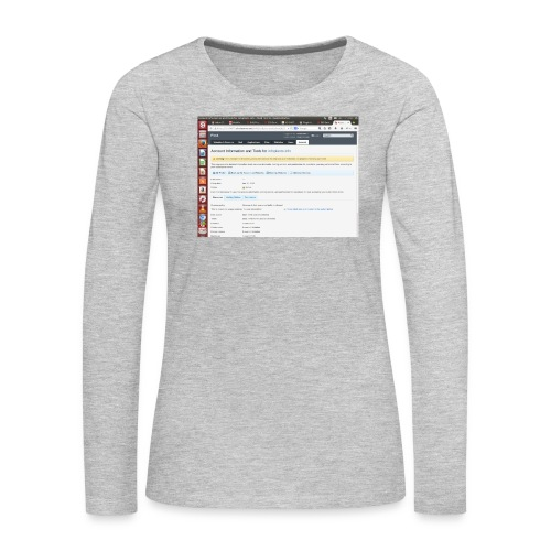 Screenshot from 2016 09 07 02 14 53 - Women's Premium Long Sleeve T-Shirt