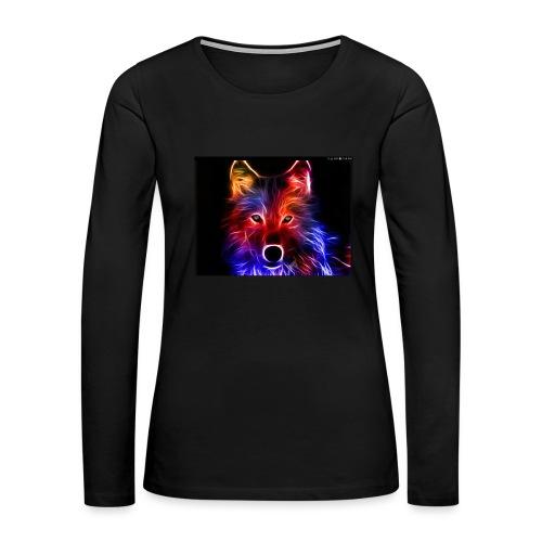 Screenshot 20171205 025459 - Women's Premium Long Sleeve T-Shirt