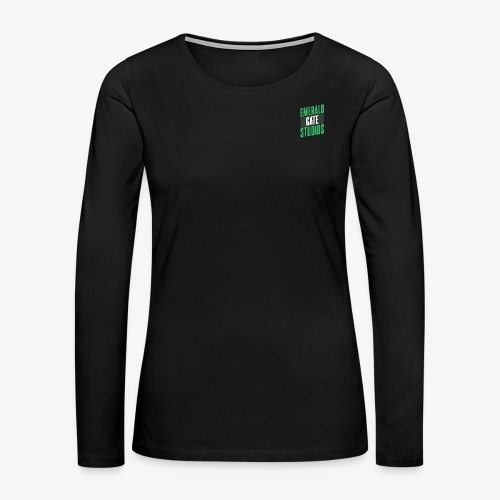 Emerald Gate Action Movie - Women's Premium Long Sleeve T-Shirt